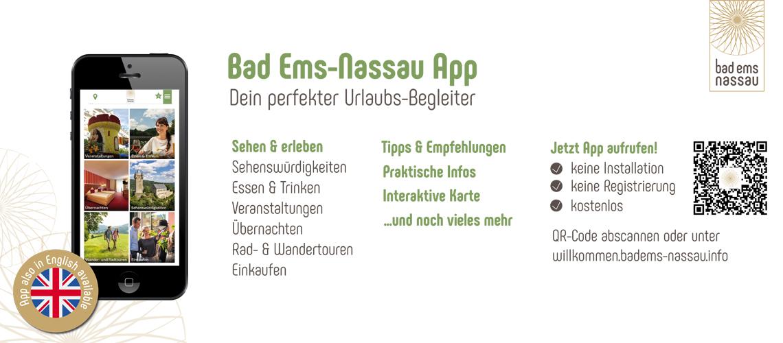 Bad Ems-Nassau App jetzt auch auf Englisch