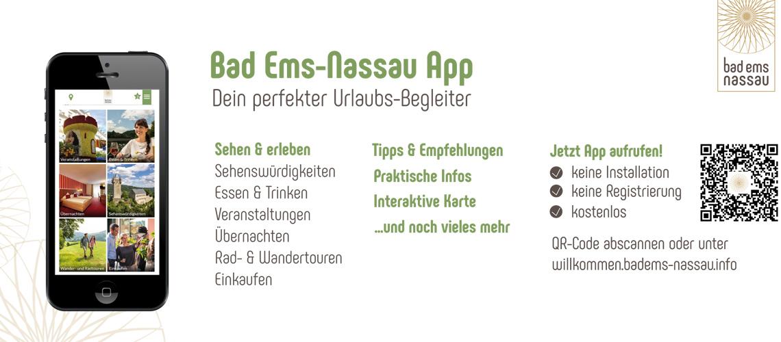 Startschuss für Bad Ems-Nassau App